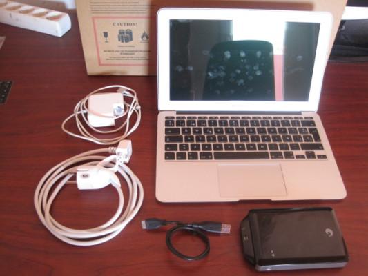 """Macbook Air 11"""" con 8Gb RAM y 256Gb ssd"""