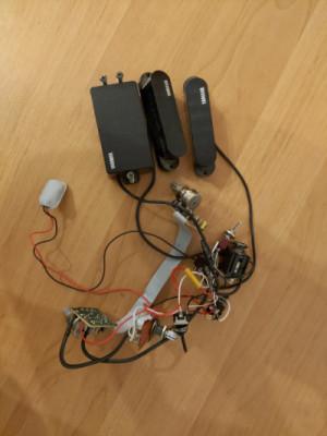 Pastillas activas Yamaha con su circuito activo