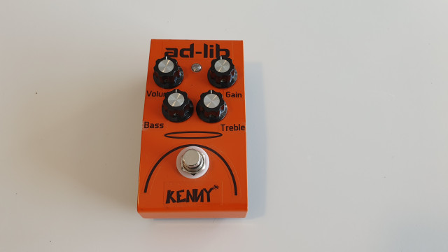 Pedal Boutique Ad-Lib Kenny Overdrive