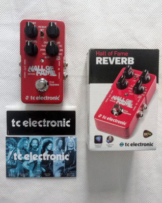 Pedal de Reverb Hall of Fame TC Electronic