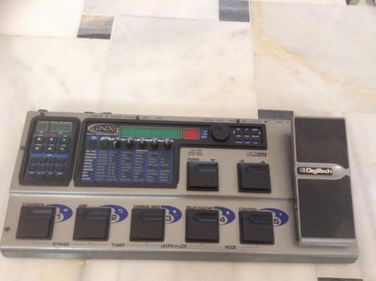 PEDALERA  DIGITECH GNX 3  ( VENDO O CAMBIO ).