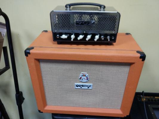 Amplificador guitarra: Cabezal Vox NT15H + Pantalla Orange PP112