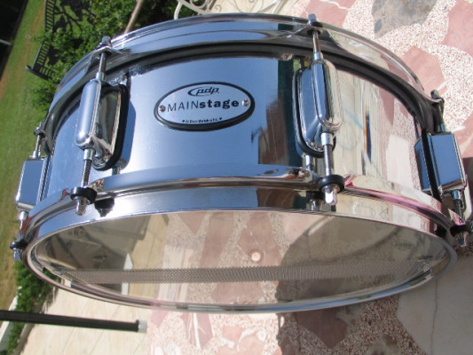 Caja PDP Mainstage Steel Snare 14x5,5