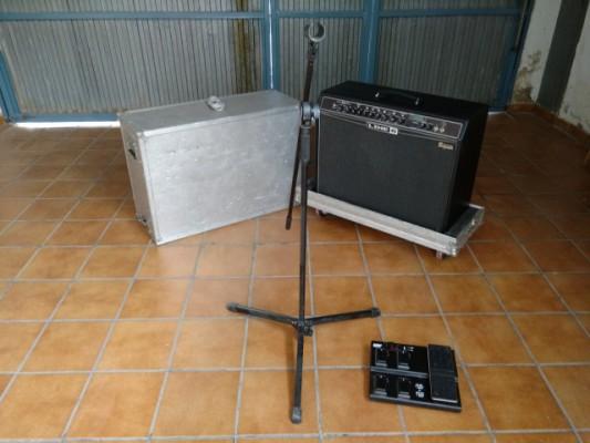 Amplificador Guitarra Line 6 Spider Valve MkII 112 completo