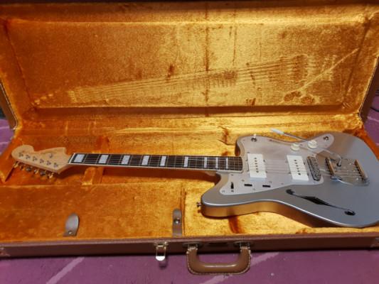 RESERVADA Jazzmaster Thinline Handmade Inca Silver Relic