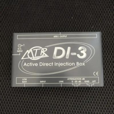 Caja DI activa MTR DI-3