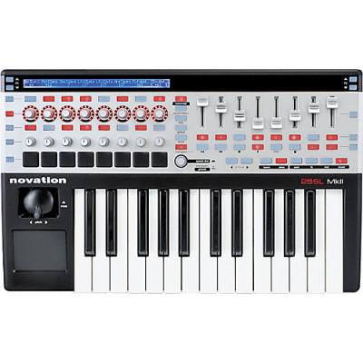 teclado novation 25 sl mkII