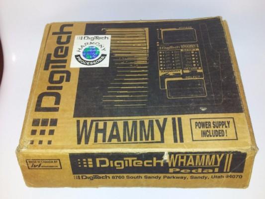 Digitech Whammy 2 WH2 Octavador Pedal Raro Vintage