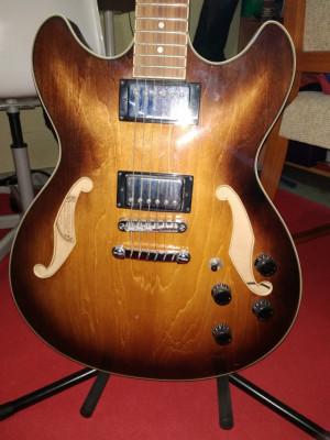 ibanez as73 con Fender bassbreaker