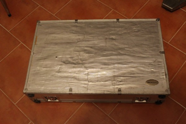 Maleta flightcase para pedalera