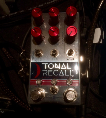 Delay Chase Bliss Tonal Recall RKM + Faves