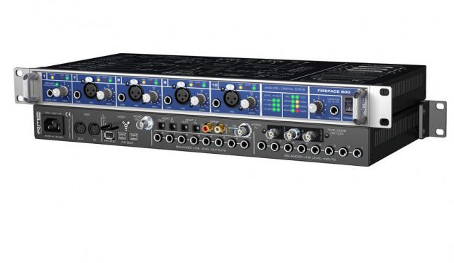 RME Fireface 800 audio interface + 2 alesis adat ai3