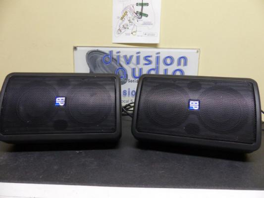 Dos cajas autoamplificadas dB Technologies L-160, **Sonido profesional**