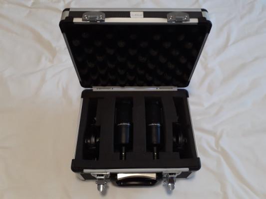 Pack de micrófonos 2 x AT2035. Con maleta.