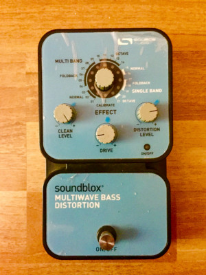 Bass Distortion SOURCE AUDIO Soundblox Multiwave