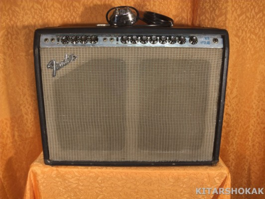 FENDER TWIN REVERB SILVERFACE VINTAGE 1973