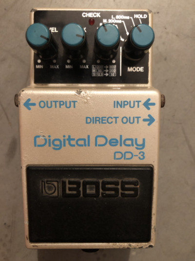 Boss DD3 Made In Japan Long Chip 1987