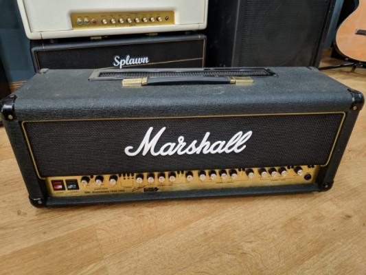 Marshall 6100 LM 30th Anniversary, por Solar con evertune, o monitor frfr, mas pasta.