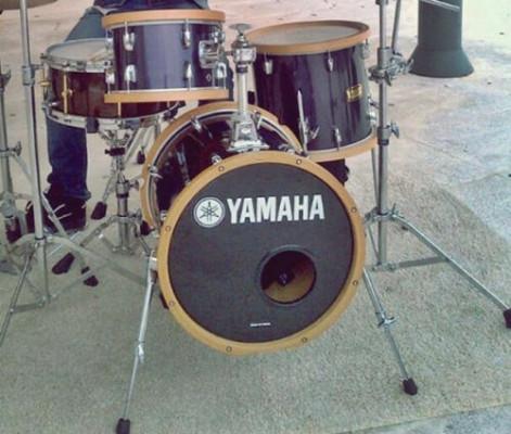 Batería YAMAHA MANU KATCHE JR KIT + Vintage Hoops