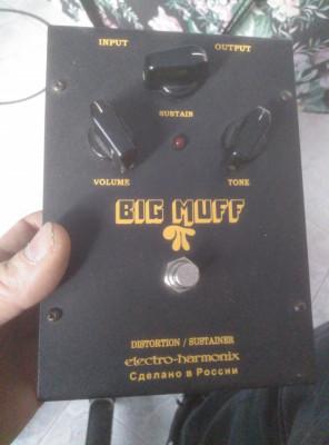 Pedal Big Muff fuzz