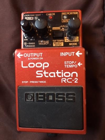 Rc-2 Loop Station Boss ( looper de boss )