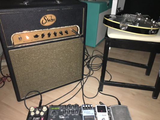 Suhr Badger 18 Combo + FligthCase