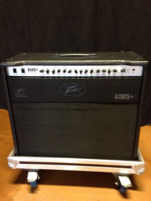 Peavey 6505 combo + flight case