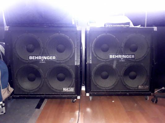 2 pantallas Behringer BG412H