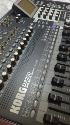 Multipistas Digital Estudio de Grabación KORG D3200 (Cambio o Vendo)