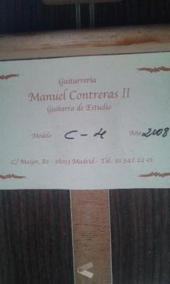 Guitarra Clasica Manuel CONTRERAS II