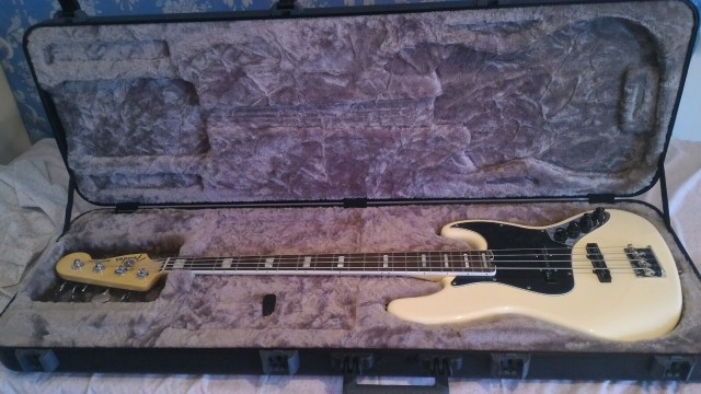 Fender Jazz American Elite 4 Olimpic White