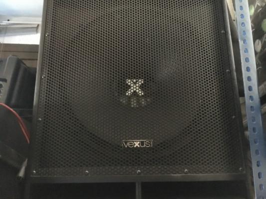 """Subgrave auto amplificado VEXUS 18""""400w"""