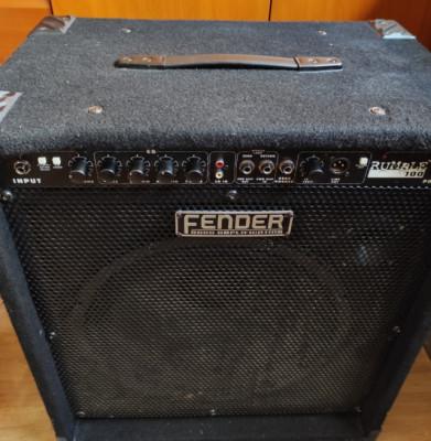 Amplificador bajo Fender Rumble 100W V1