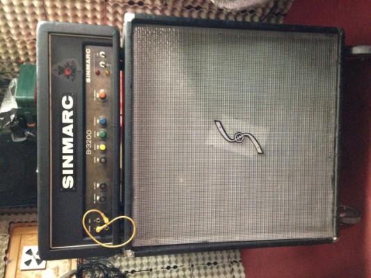 Vendo amplificador Sinmarc