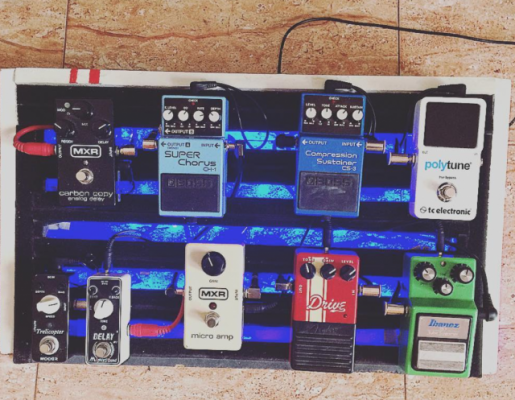 Pedalboard Homemade