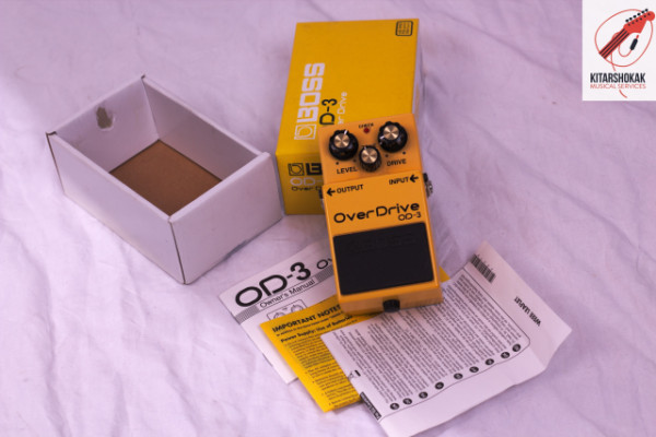 BOSS OD-3 OVERDRIVE PRE-OWNED