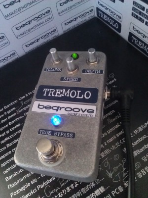 EA TREMOLO VINTAGE CIRCUITO 1968 TRUE BY PASS