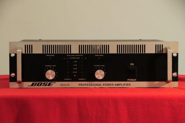 Amplificador Bose 1800/IV (450w/ch@8ohm) ENVÍO GRATIS