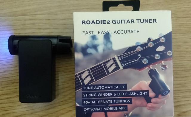 Roadie Tuner 2 - Afinador automático