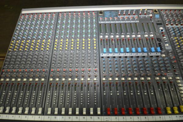 Mesa mezclas analógica 36 canales