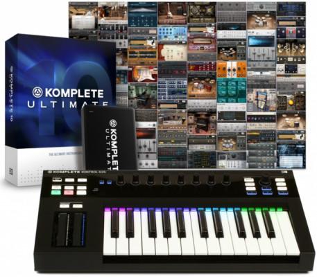 Komplete Kontrol S25 + Komplete Ultimate 10