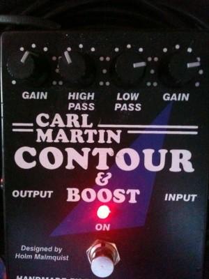 Vendo Contour & Boost de Carl Martin