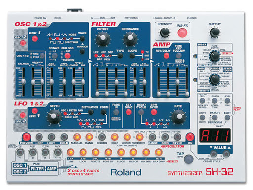 Roland sh 32