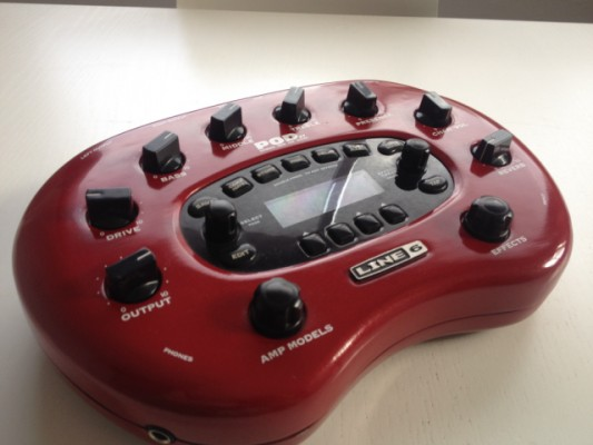 LINE6 PODXT + model packs + impecable!