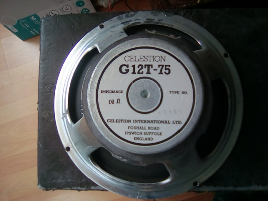 Celestion G12T-75 16 Ohm.