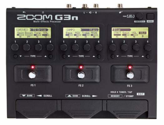 Multiefectos Zoom G3N seminuevo con garantía.
