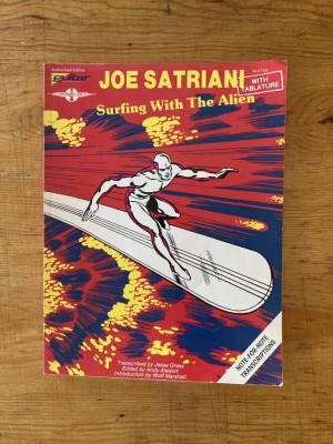 Tablatura Satriani - Surfing with the Alien