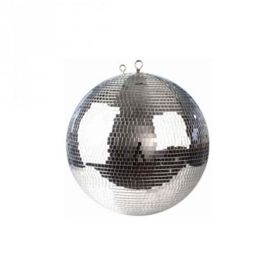 Bola espejos discoteca 50cm + cadenas doble seguridad y cierre