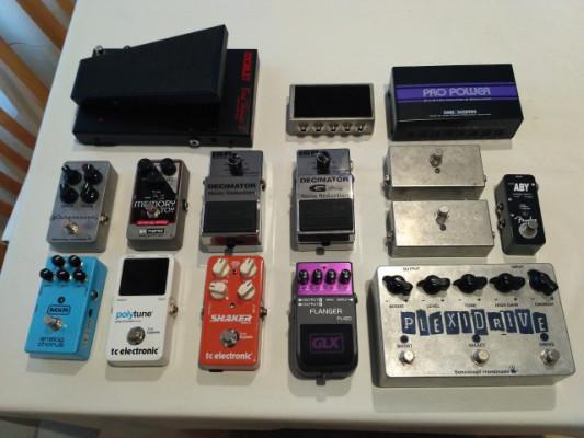 REBAJA pedales (EH, TC Electronic, Morley, Carl Martin, Buzz)