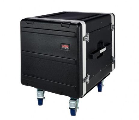 Gator rack flight case ruedas abs 10 unidades